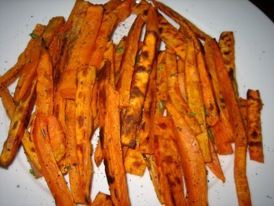 Baked Sweet Potato Fries Two Peas Their Pod