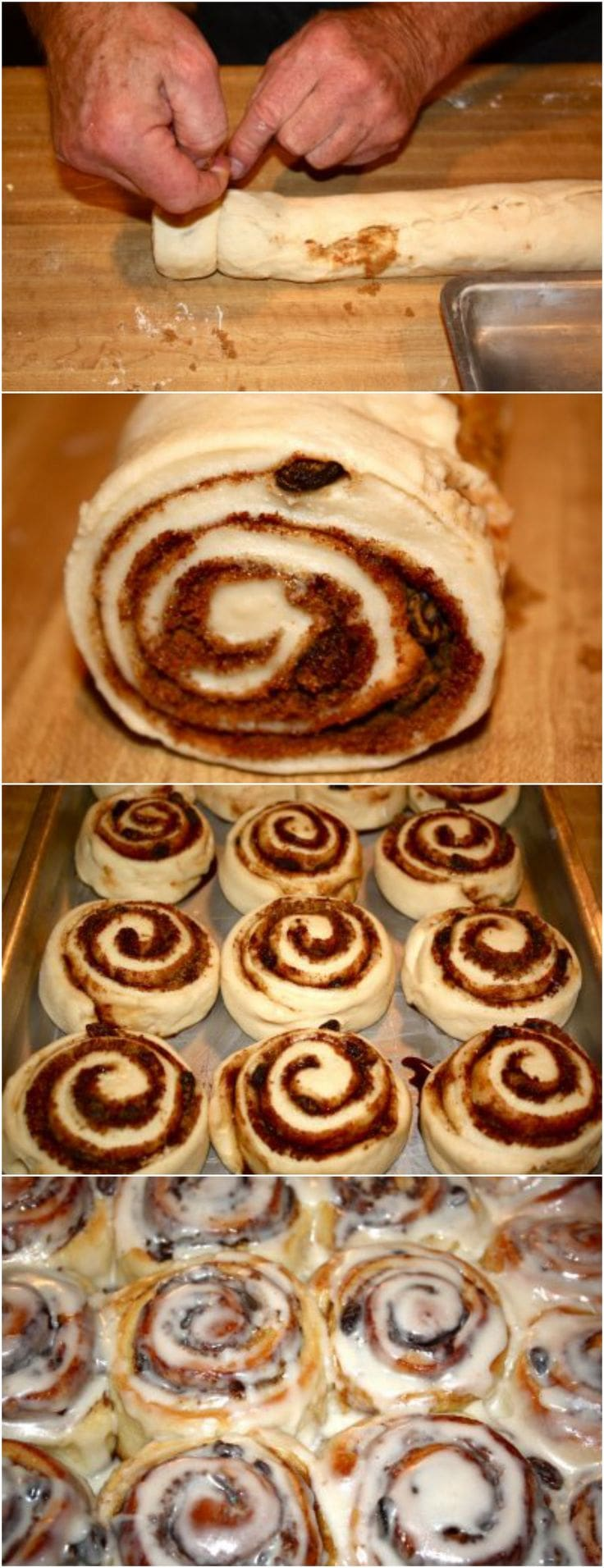 Cinnamon Roll Recipe on twopeasandtheirpod.com These are the BEST cinnamon rolls! They are perfect for breakfast or brunch! They come out perfect every time! #cinnamonrolls #breakfast