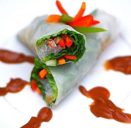 Vegetable Spring Roll Vegetable Sprin...