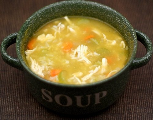 Easy Chicken And Rice Soup Recipe Two Peas Their Pod