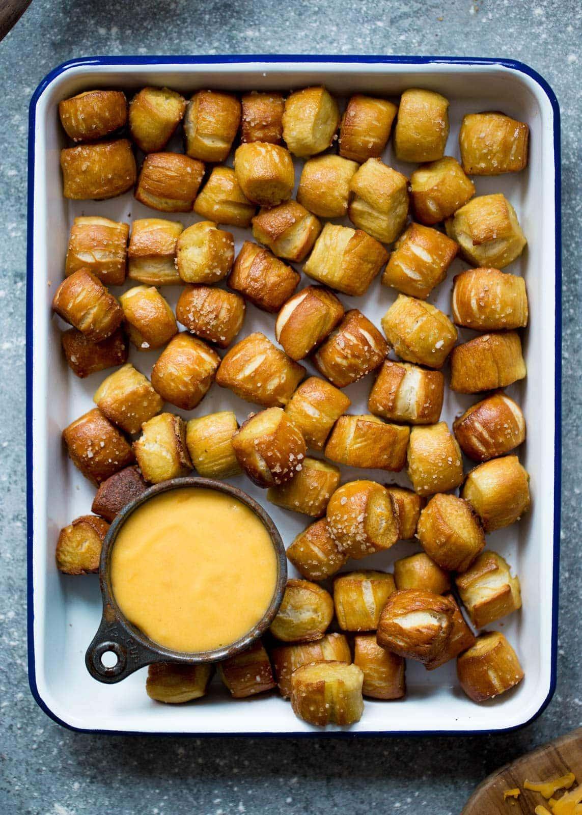 Homemade Soft Pretzel Bites | Pretzel
