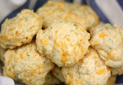 Cheddar Cheese Biscuits with Cilantro | Two Peas & Their Pod