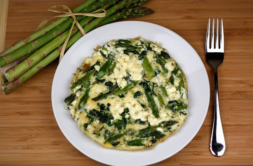 Image result for egg white omelette with asparagus and spinach