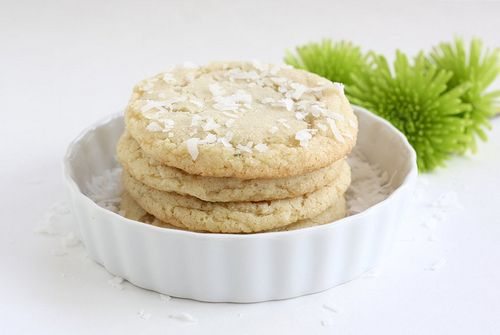 coconut lime sugar cookies
