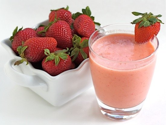 Image result for strawberry smoothie hd