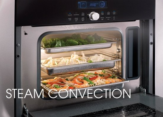 cooking in a convection oven