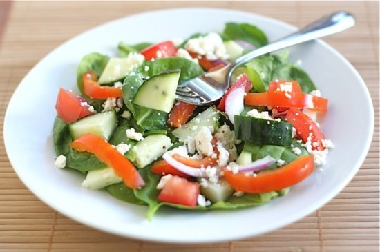 Simple Spinach Salad With Ideas