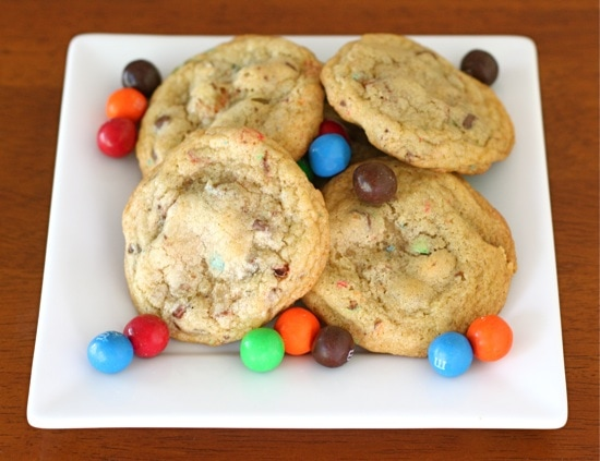 Pretzel M&M Cookies