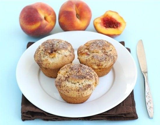 3db1449833aa6 Peaches 'n Cream Muffins - Two Peas & Their Pod