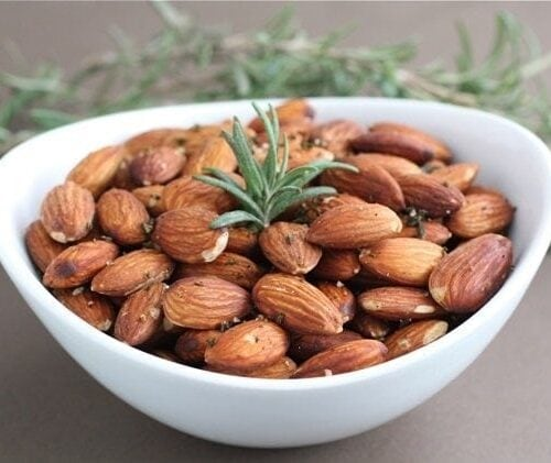how to toast almonds in oven