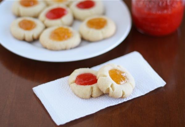 Jammin Sugar Cookie Thumbprints Two Peas Their Pod