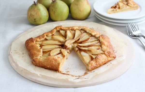 Pear galette two peas their pod for Apple pear recipes easy