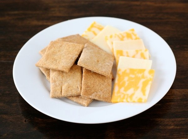 Homemade crackers - Wheat Thins with Cheese