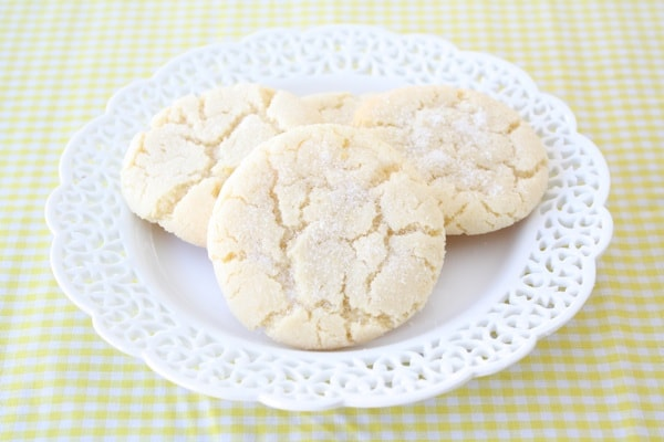 Lemon Sugar Cookie Recipe Two Peas Their Pod