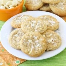Coconut White Chocolate Chunk Cookie Recipe