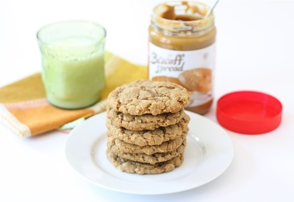 Biscoff Oatmeal Cookie Recipe