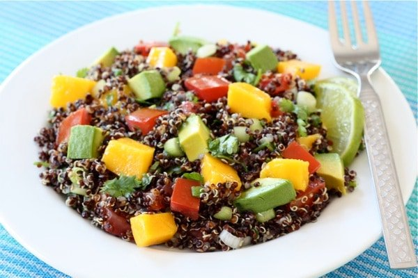Summer Salads - black quinoa salad