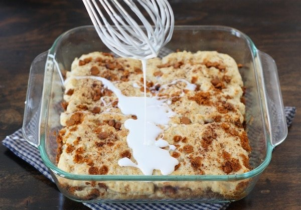 Gooey Cinnamon Biscuit Recipe from twopeasandtheirpod.com #recipe
