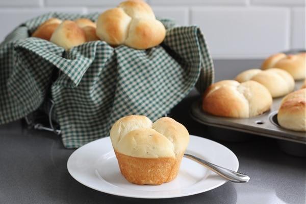 Potato Rosemary Rolls Recipe