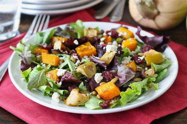 Roasted Butternut Squash Salad Recipe