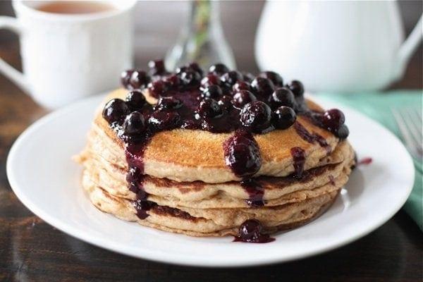 Blueberry Pancakes Cake Flour