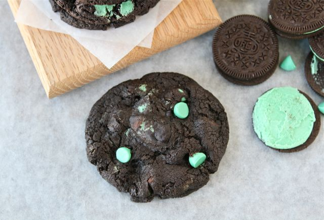 Chocolate Mint Oreo Cookies Two Peas Their Pod