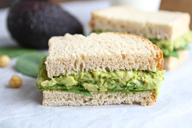 Smashed Chickpea Avocado Salad Sandwich Recipe