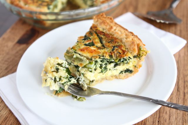 Asparagus Quiche Recipe | Two Peas & Their Pod