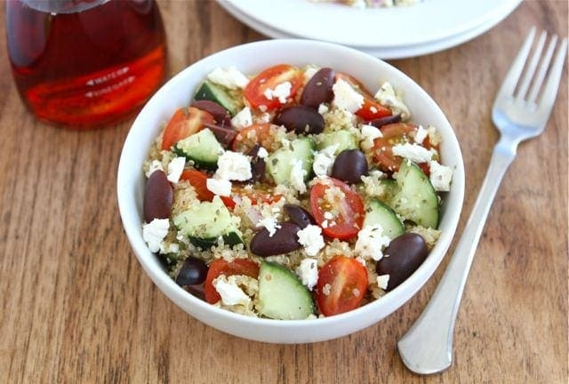 Greek Quinoa Salad | Quinoa Salad Recipe | Two Peas ...