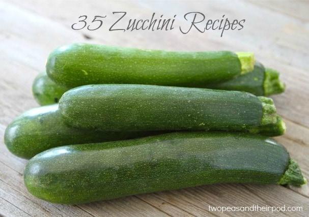 35 Zucchini Recipes for all your summer Zucchini