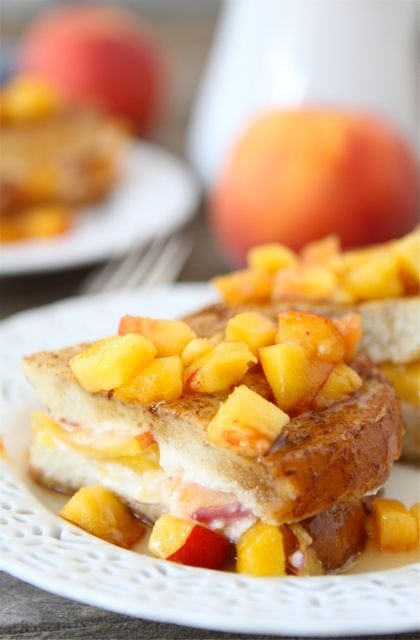 60d46710db Peaches and Cream French Toast