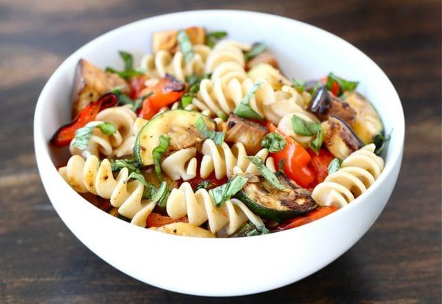 Grilled Ratatouille Pasta Salad | Pasta Salad Recipe | Two ...