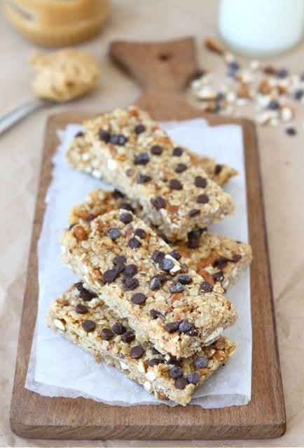 Easy homemade no-bake granola bars
