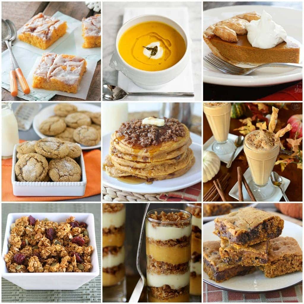 Pumpkin Recipes-the BEST pumpkin recipes for fall!
