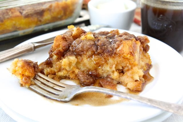 Baked pumpkin french toast recipe two peas their pod baked pumpkin french toast ccuart Gallery