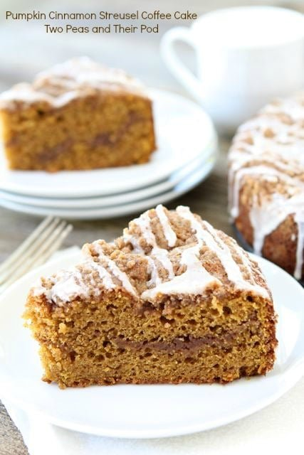 Pumpkin Coffee Cake Recipe is perfect for fall