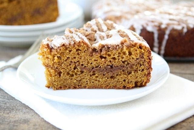Pumpkin Coffee Cake Recipe Two Peas Their Pod