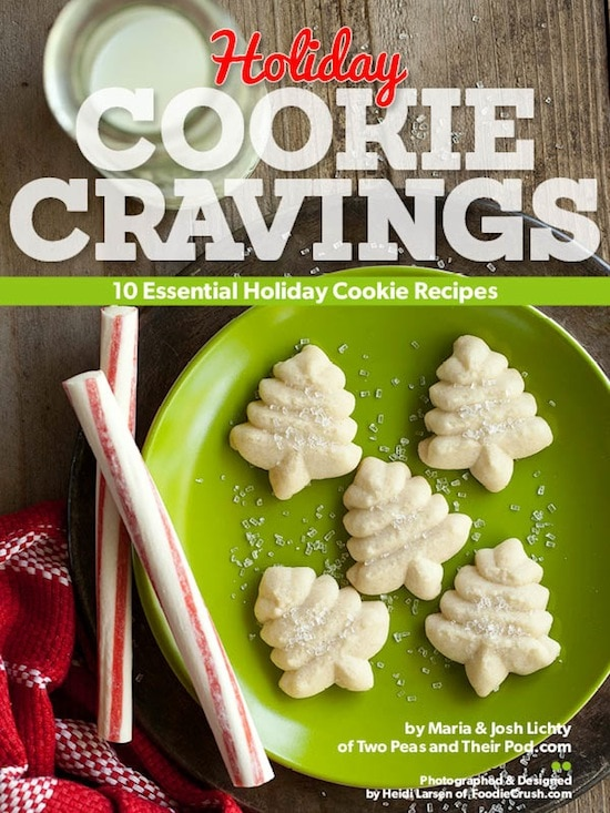 Holiday Cookie Cravings by Two Peas and Their Pod (www.twopeasandtheirpod.com) #recipes #cookies
