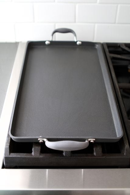 Anolon Double Burner Griddle Giveaway Anolon Giveaway Two Peas