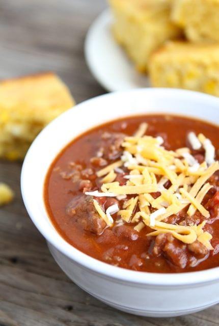 Dad S Spicy Chili Recipe Chili Recipe