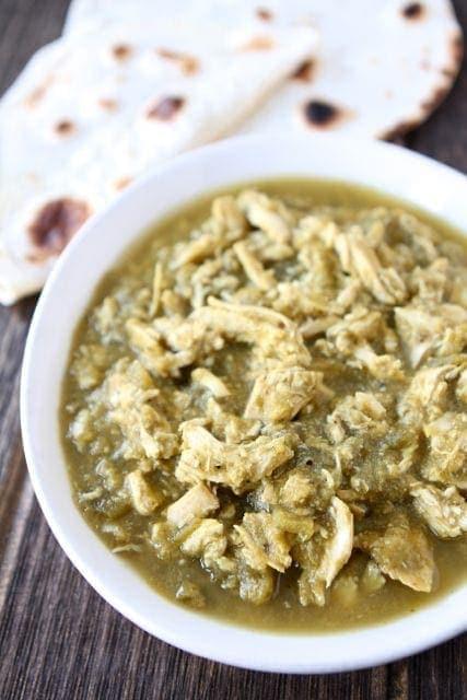 Slow Cooker Chicken Chile Verde Slow Cooker Chicken Recipe