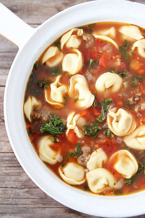 Tortellini soup recipes with sherry