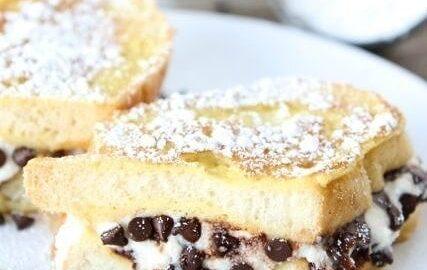 Cannoli Stuffed French Toast