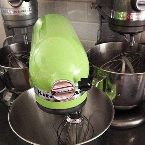 Kitchenaid Green Apple Mixer