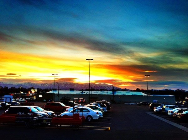 sunset-utah