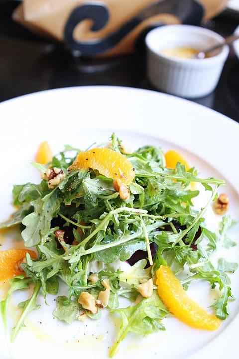 Beet Salad at Bambara Restaurant in Salt Lake City on twopeasandtheirpod.com