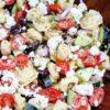 Tortellini Salad that is Greek Inspired