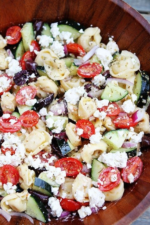 Greek Tortellini Pasta Salad Recipe