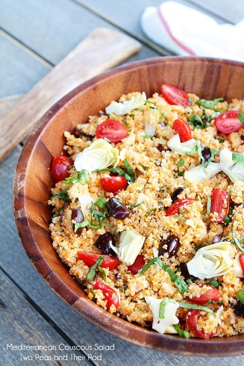 Homemade Couscous Salad Recipe in Bowl