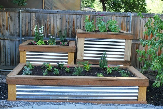 Raised Garden Beds on twopeasandtheirpod.com